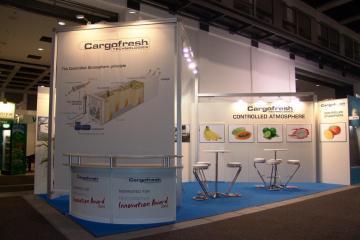 Cargofresh - Messestand Fruit 2009 Berlin