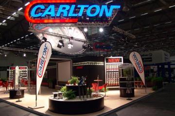 Messestand Carlton, USA, GAFA Köln