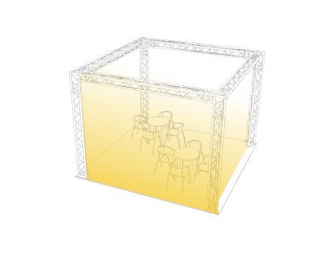 Komplettangebot 4x4x3m
