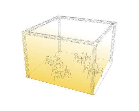 Komplettangebot 6x6x4m